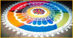 GIRLS RANGOLI V/S BOYS RANGOLI
